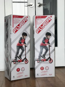 Yvolution Y Flyer Scooter, Red, One Size (2 AVAILABLE)