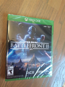 Xbox Star Wars Battlefront II game - NEW still in package