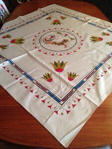 Brand new linen Egyptian table cloth