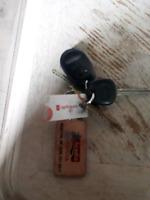 Found keys