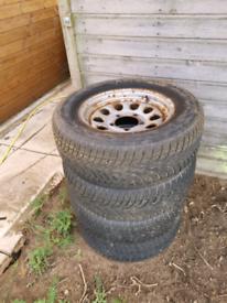 Suzuki Jimny Wheels & Winter Tyres x4