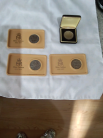 COINS-1952 - 1977 SILVER JUBILEE