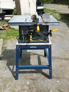 MasterCraft table saw