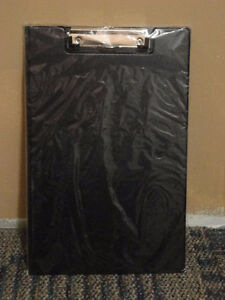 Brand new black legal sized writing pad clipboard London Ontario image 1