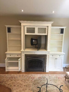 Entertainment Center - Gas Fireplace