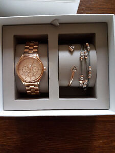 Fossil Watch & Braclet