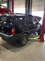 Parting out 2002 Nissan xterra