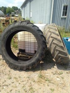 Used 15.5x38 tractor tires