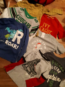 Boys clothing lot: size 4/5 (mostly)