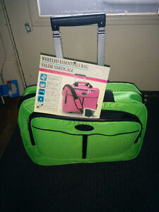 New Wheeled Essentials/Laptop Bag for Sale