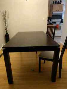 Free Table & 2 Chairs