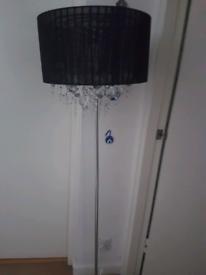 Floor lamp +2 ceiling light set