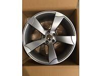 "Set of 19"" TTRS style Alloy wheels Audi ."