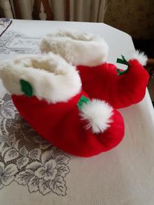 Pantoufle de Noel