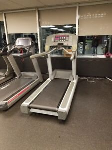 Life Fitness 95ti Commercial Treadmills-With New Running Belt