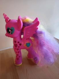 My Little Pony electronic figure.