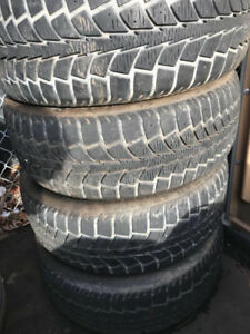 Winter Tires with Rims - 205/65/16