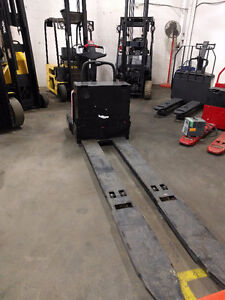 Raymond Long John End Rider/ Double Pallet Mover/Forklift