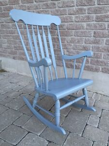 Wood Rocking Chair - Light Grey Kingston Kingston Area image 3