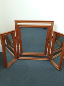 3 section Mirror