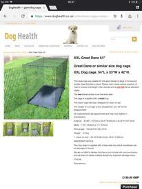 "54"" dog crate £50 Ono"