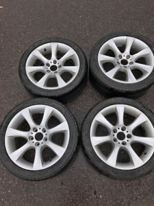 Original BMW 18 inch rims made in Germany by BBS