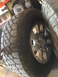 4x Duramax Factory wheels (2011+) 8X180mm