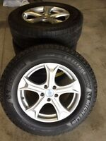 Toyota Venza Michelin Winter Tires