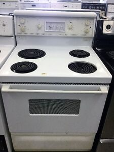"McClary White 30"" Coil Top Stove"