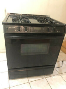 Jen air 30'' slide in complete gas stove