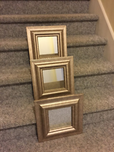 Gold Coloured Framed Mirrors