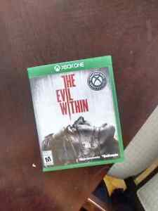 The evil within like new