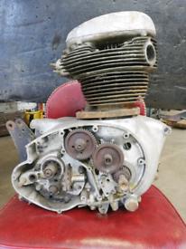 BSA A65 1965 engine