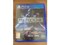 Ps4 sealed Star Wars battlefront brand new