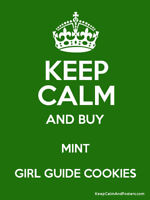 Mint Girl Guide Cookies are BACK!