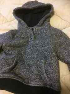 Size 2 fleece lined hoodie