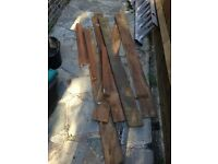 6 feather boards plus other wood offcuts