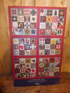 Canadian Quilt Poster