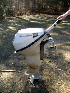 Johnson 9.5 hp Outboard Motor - Good condition