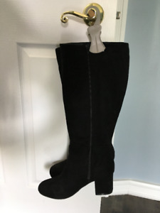 Knee high boots - wide foot, wide calf