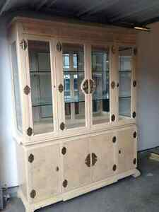 Showcase!! China cabinet and hutch Open to Offers