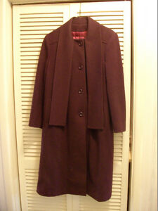 Blue winter wool coat, never worn excellent condition Peterborough Peterborough Area image 2