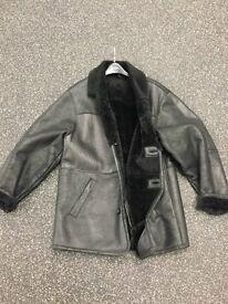 Sheep skin leather jacket