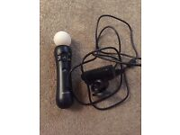 PS3 Eye Toy And Move Controller