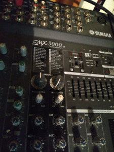 Yamaha 20 channel powered mixer