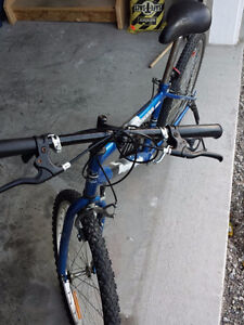 18 speed super cycle bike in blue colour Cambridge Kitchener Area image 3