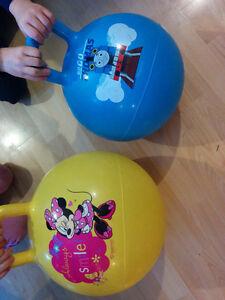 Minnie Mouse bouncy ball