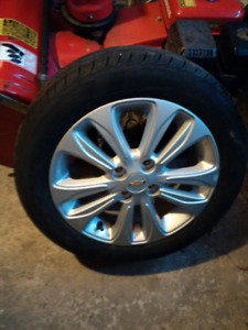 2018 Chevrolet Spark alloy wheels with TPS and Kumho Tires