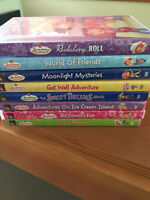 A bunch of Strawberry Shortcake DVD's