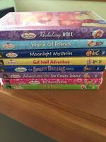 A bunch of Strawberry Shortcake DVD's